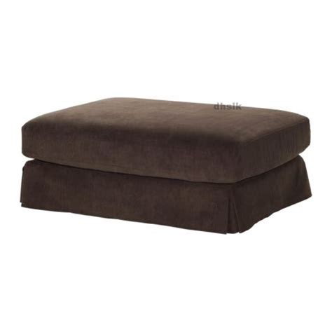 Corduroy Futon Cover by Hovas Footstool Slipcover Ottoman Cover Graddo Brown