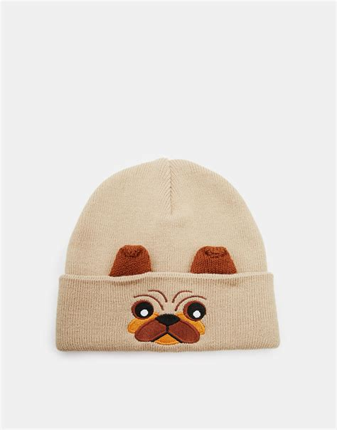 pug beanie ten amazing pug products andrea faustini would which you need metro news