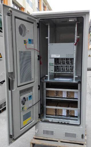 DDTE080:19 Inch Rack Integrated Outdoor Telecom Cabinet