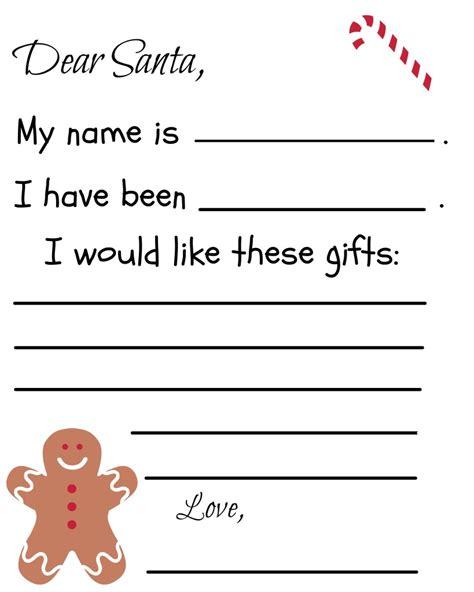printable santa letter template debt spending