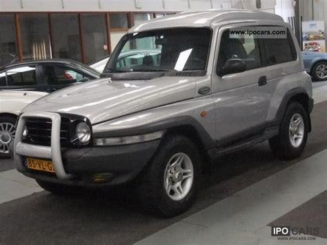 ssangyong korando 1999 1999 ssangyong van korando ex 3 2 automaat lpg g3 car