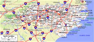 road map of carolina and south carolina webquest