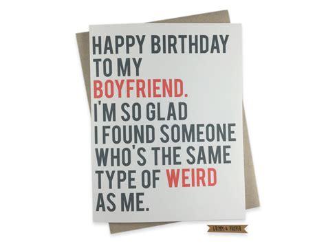 Birthday Memes For Boyfriend - funny boyfriend birthday card boyfriend s birthday