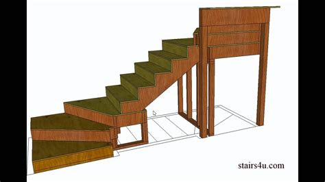 youtube stair layout how to build and frame winder stairs exle from book