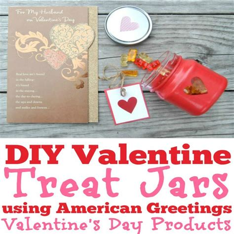 Valentines Day Treats Product by Diy Treat Jars Using American Greetings