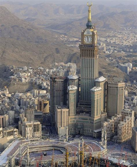 abraj al bait the abraj al bait towers in mecca saudi arabia
