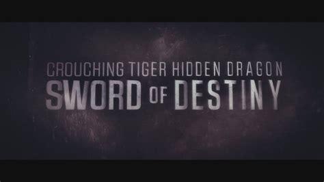 Lu Hid Tiger kaplan ve ejderha 2 crouching tiger sword