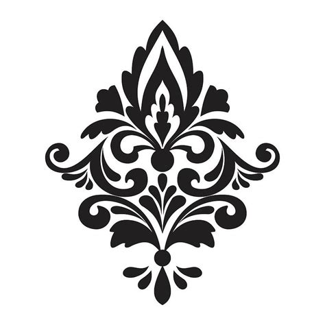 Damask Patterns On Pinterest Damask Stencil Free Damask Pattern And Damask Wall Stencils Stencil Template