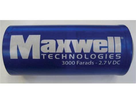 second supercapacitor bcap3000 p270 k05 datasheet maxwell s boostcap 174 ultracapacitor family