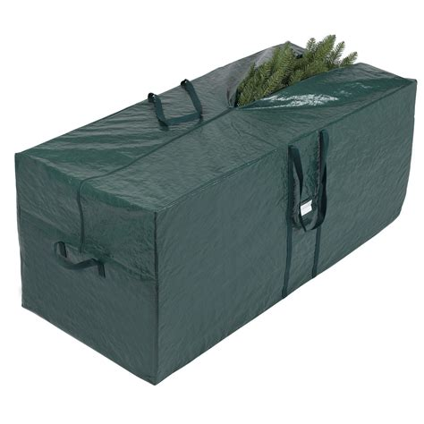 essential home artificial christmas tree rolling storage bag