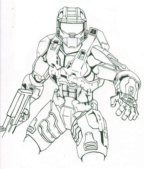 halo master chief by chargedgraphite on deviantart