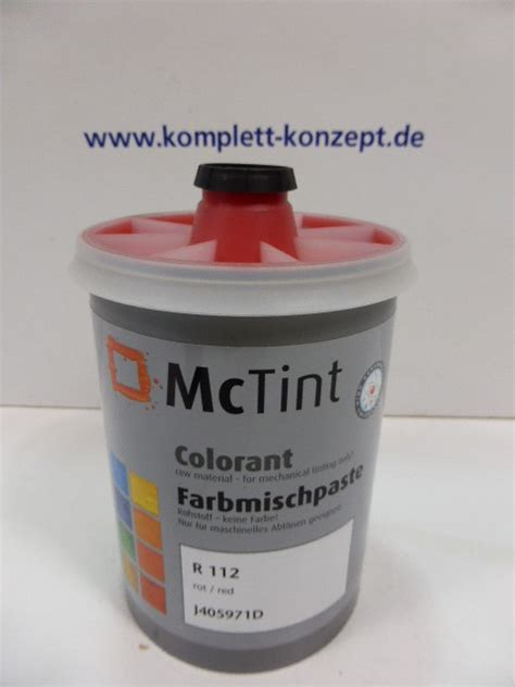 Rote Fliesen 112 by Mctint Colorant Farbe Farbmischpaste R 112 J405971d