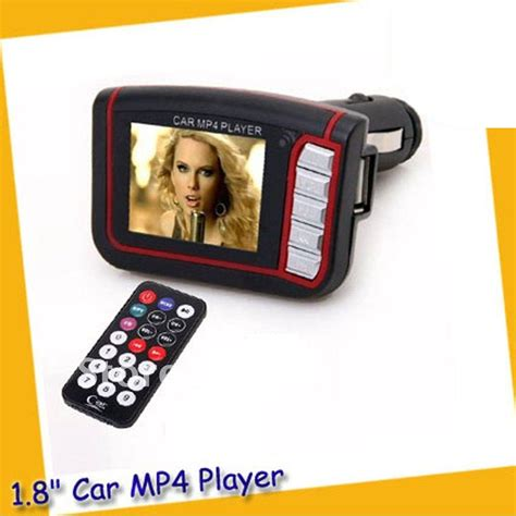 mp4 car fm transmitters with lcd 1 8 inch and micro sd