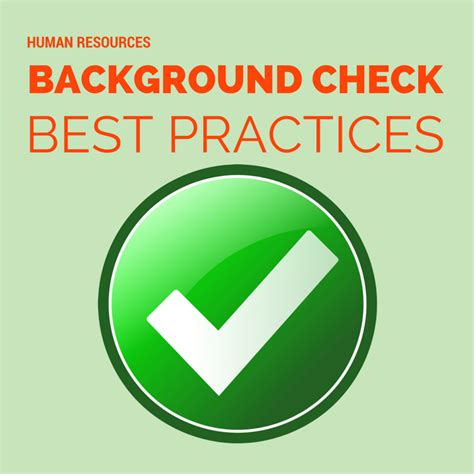 Check Background Check Best Practices For Employee Background Checks Victig