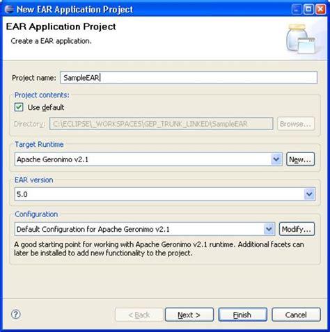 tutorial java enterprise application apache geronimo v2 2 documentation 5 minute tutorial on