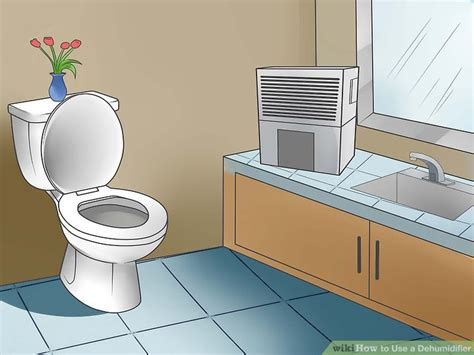 how to dehumidify a room 5 easy ways to use a dehumidifier with pictures wikihow