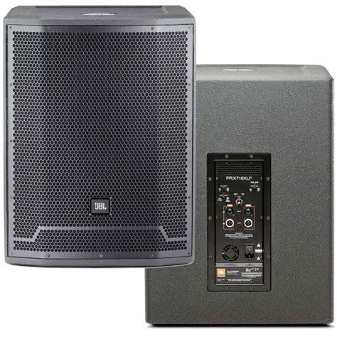 Speaker Jbl 18 Inch jbl prx718xlf 18 inch subwoofer system padded speaker