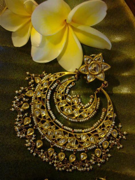 Belleza De Bali Earrings chand bali jadau and kundan jewellery joyer 237 as