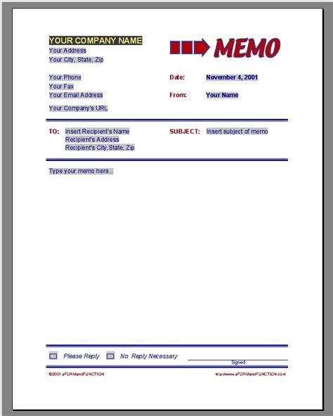 memos templates business memo template wordscrawl