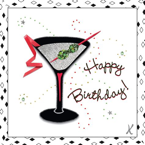 birthday martini martini k by