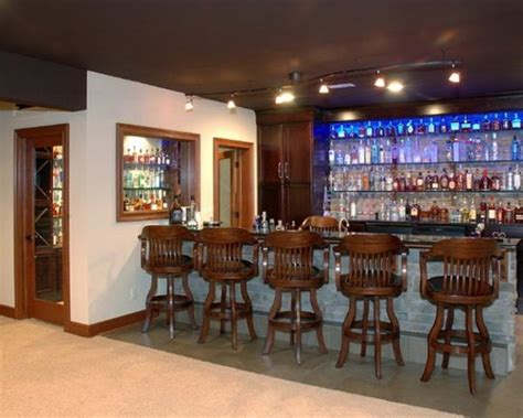 bar decorating ideas for home passioned home bar design ideas modern design with blue led