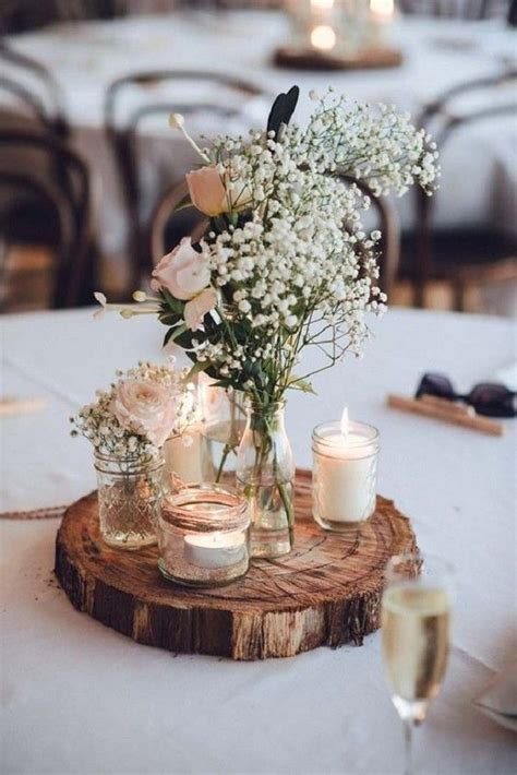 Handmade Centerpiece Ideas - 10 diy wedding ideas on a budget rustic diy