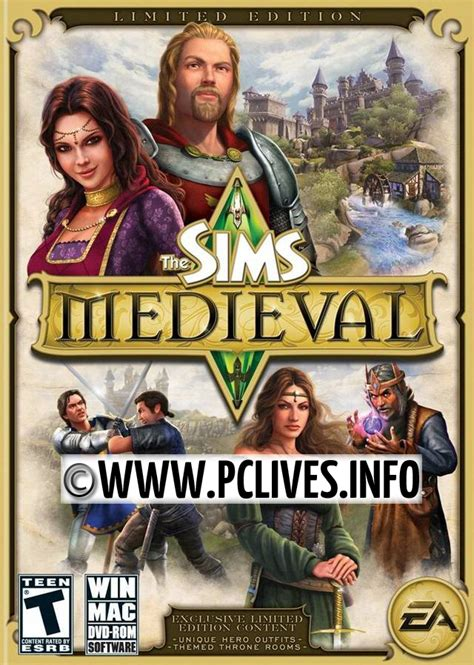 free full version games download the sims medieval pc game the sims 3 collection all expansions updates