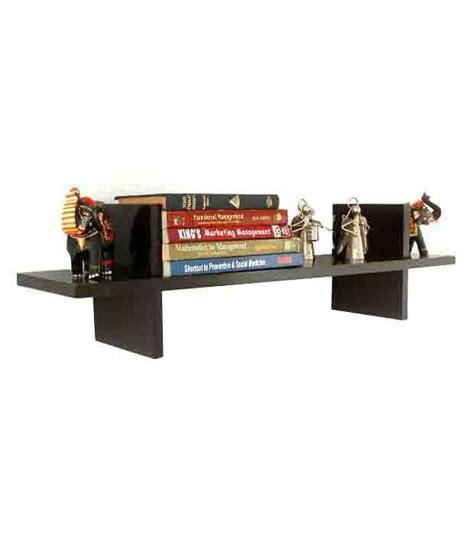On A Shelf Best Price by Floating Wall Shelf In Brown Buy Floating Wall Shelf In