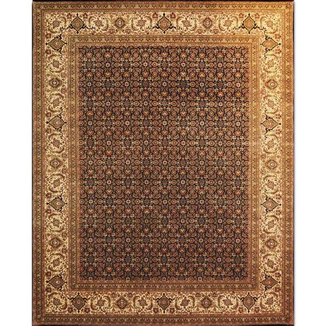 India Wool Rugs by Size 08x10 Herati Wool Rug India