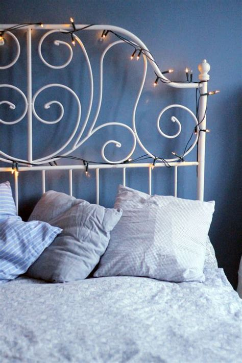 how to attach string lights metal headboard with string lights i m going to attach a