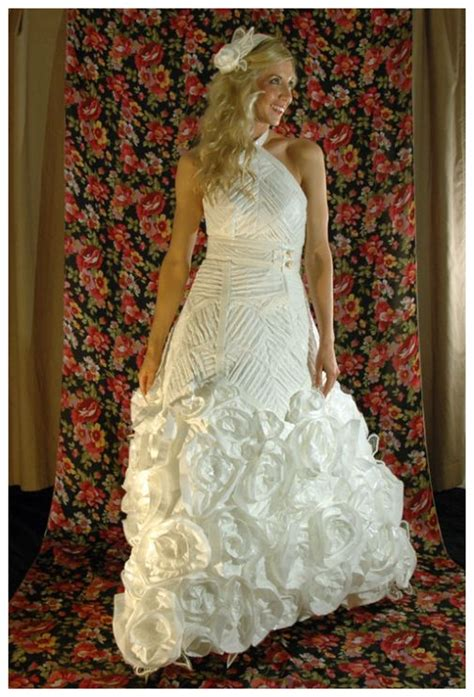 How To Make A Dress Out Of Tissue Paper - tissue paper wedding dress wedding dresses