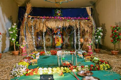 how to decorate janmashtami at home krishna janmashtami jayanthi gokul ashtami decoration ideas images