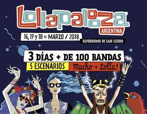 entrada lollapalooza lollapalooza en argentina 2018 precios y entradas en venta