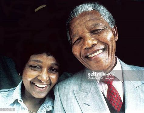 nelson mandela president biography winnie mandela stock photos and pictures getty images