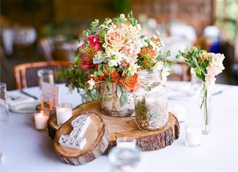 rustic wedding table decorations wedding ideas lisawola unique rustic wedding