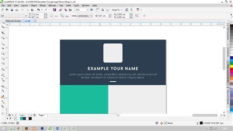 membuat cv dengan corel graphic design cara membuat cv keren dengan coreldraw x7