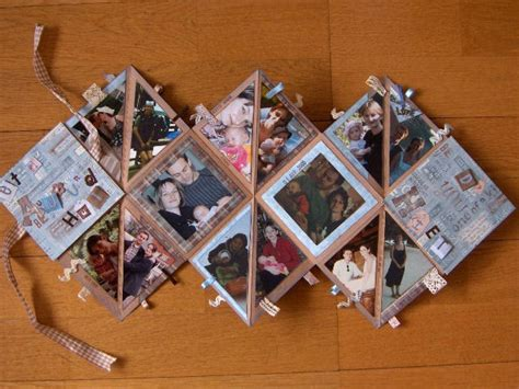 Origami Photo Album - mini album origami photo de minis albums les
