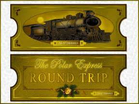 polar express golden ticket template graphics foster herring page 5