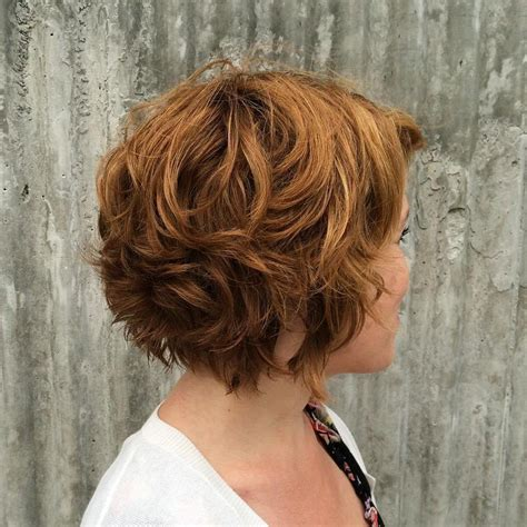 hairstyles for short curly layered hair at the awkward stage 40 layered bob styles modern haircuts with layers for any