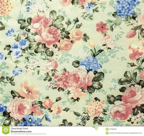 floral pattern vintage fabric retro lace floral seamless pattern white fabric background