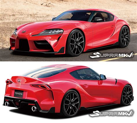 Supra New Model by New Toyota Supra Gets Rendered Based On Leaked Images
