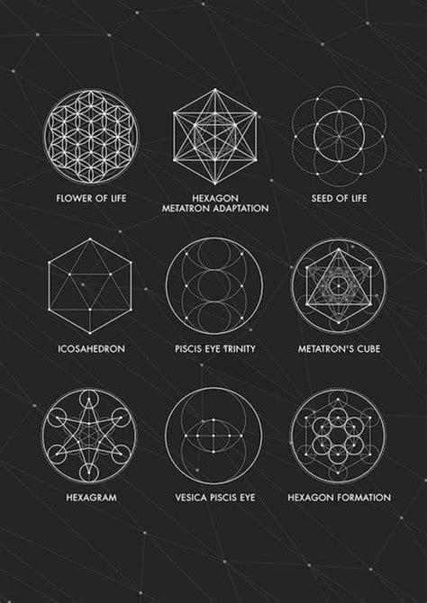 sacred geometry print sacred geometry poster geometry