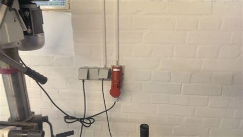 renovierung und neueinrichtung der werkstatt juene tronic - Werkstatt Steckdosen