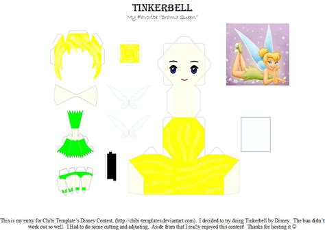 tinkerbell template by silverpraise on deviantart