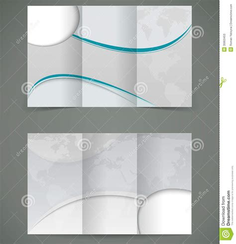 brochure layout eps vector silver brochure layout design business thr stock