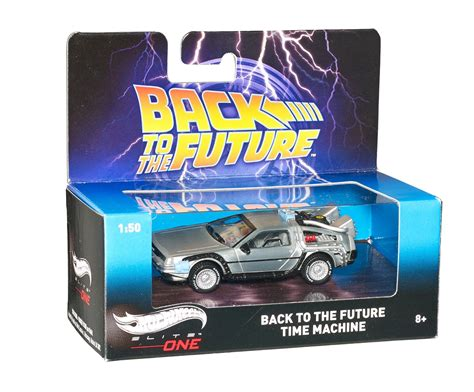 Hotwheels Elite One Back To The Future 1 back to the future delorean time machine diecast model hotwheels elite one