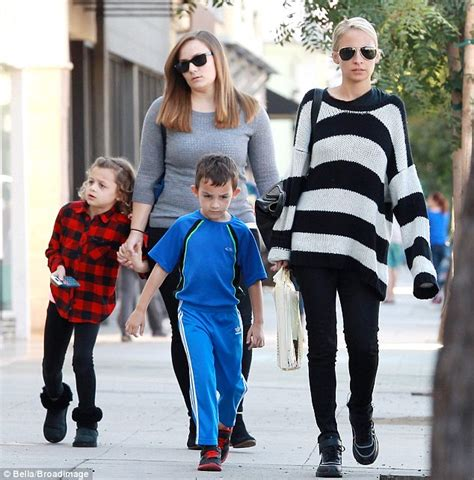 House Designer Online by Nicole Richie Wears Stripes As She Shops With Kids In