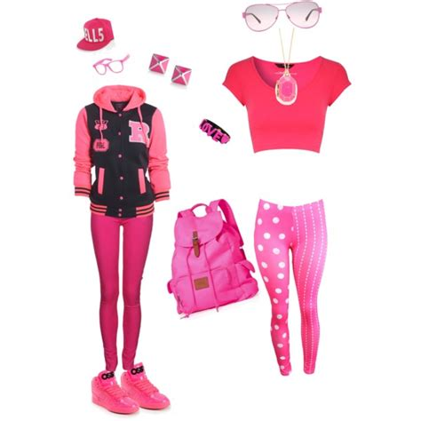 Pink outfits   Polyvore