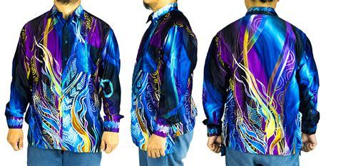 Dress Pakaian Terusan Wanita Blue The Leisure L 345064 cy a6109 kemeja batik lelaki shirt m end 2 3 2020 11 36 am