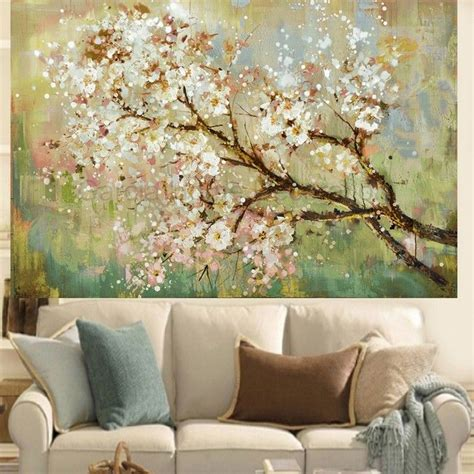 Decorative Paintings For Living Room by 1000 Ideas About Painted Wall On Diy Wall